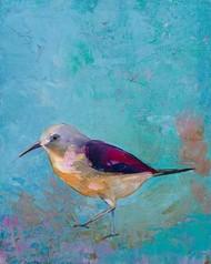 Vibrant Shorebird I Digital Print by Altug, Mehmet,Impressionism