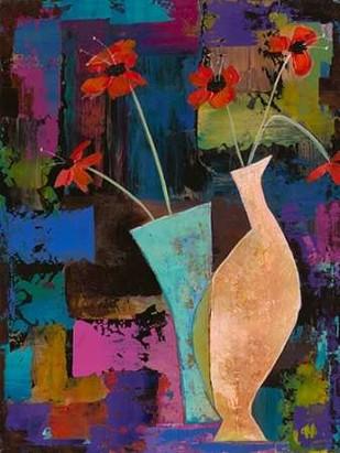 Abstract Expressionist Flowers I Digital Print by Altug, Mehmet,Decorative