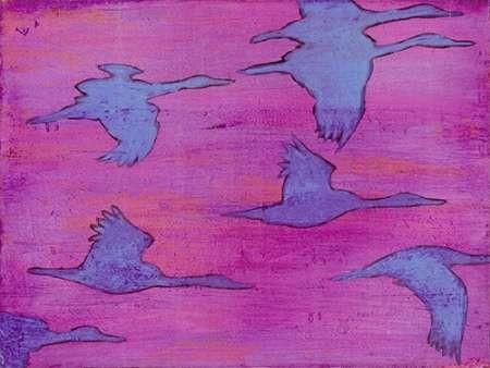 Flying Silhouettes I Digital Print by Altug, Mehmet,Impressionism