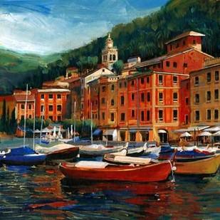 Italian Village I Digital Print by OToole, Tim,Impressionism