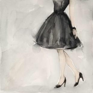 Little Black Dress II Digital Print by Meagher, Megan,Decorative