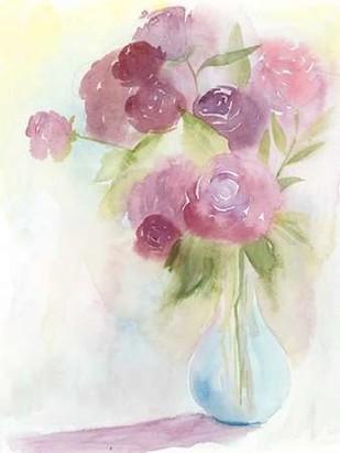 Glowing Bouquet I Digital Print by Popp, Grace,Impressionism