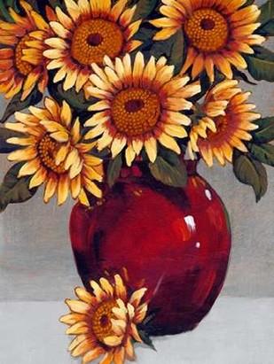 Vase of Sunflowers II Digital Print by OToole, Tim,Decorative