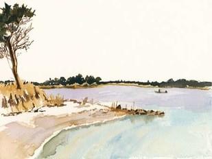 Minimalist Coastline I Digital Print by Miller, Dianne,Impressionism
