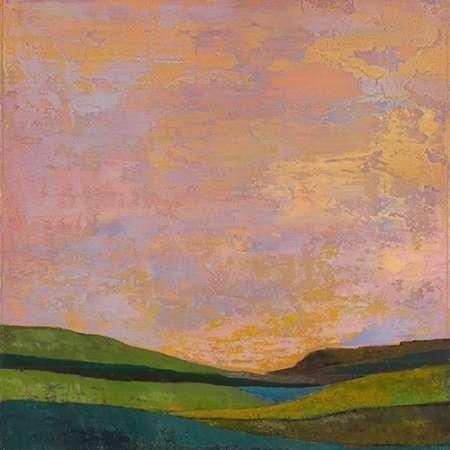Vivid Layered Landscape II Digital Print by Altug, Mehmet,Impressionism