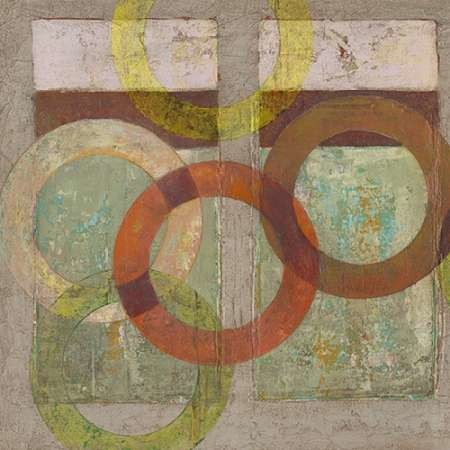 Circles Textured I Digital Print by Altug, Mehmet,Abstract