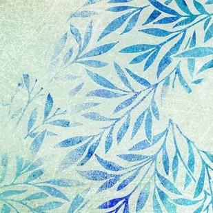 Cerulean Foliage I Digital Print by Studio W,Decorative