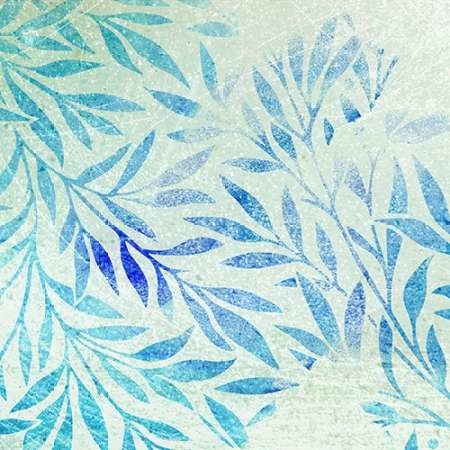 Cerulean Foliage II Digital Print by Studio W,Decorative