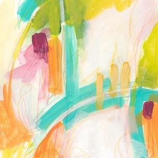Tangerine Dream II Digital Print by Vess, June Erica,Abstract