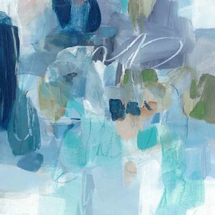 Snowy Kisses Digital Print by Long, Christina,Abstract
