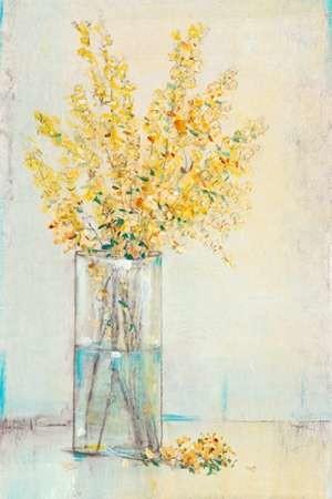 Yellow Spray in Vase II Digital Print by OToole, Tim,Impressionism