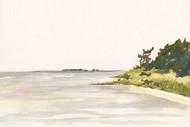 Solitary Coastline I Digital Print by Miller, Dianne,Impressionism
