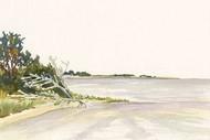 Solitary Coastline II Digital Print by Miller, Dianne,Impressionism