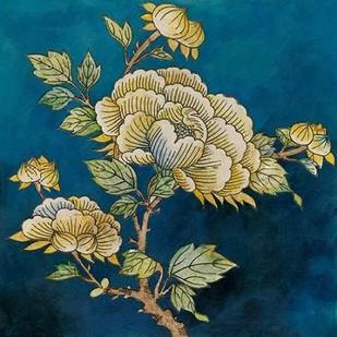 Eastern Floral I Digital Print by Meagher, Megan,Decorative