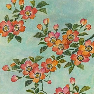 Eastern Blossoms II Digital Print by Meagher, Megan,Decorative