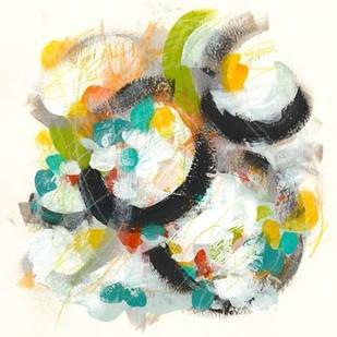 Circular Energy II Digital Print by Vess, June Erica,Abstract