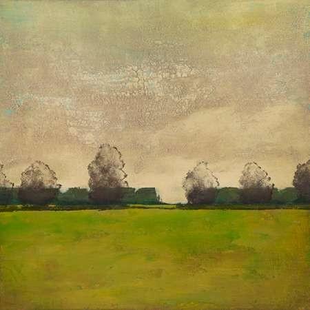 Treeline in the Field II Digital Print by Altug, Mehmet,Impressionism