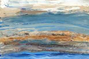 Indigo Currents II Digital Print by Ludwig, Alicia,Impressionism
