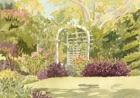 Aquarelle Garden II Digital Print by Miller, Dianne,Impressionism