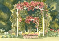 Aquarelle Garden IV Digital Print by Miller, Dianne,Impressionism