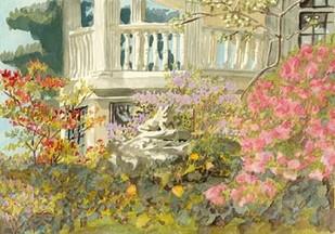 Aquarelle Garden V Digital Print by Miller, Dianne,Impressionism