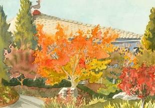 Aquarelle Garden VII Digital Print by Miller, Dianne,Impressionism