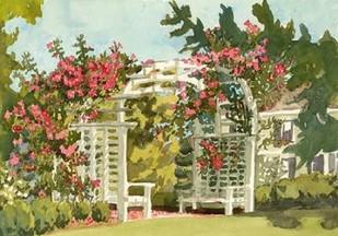 Aquarelle Garden VIII Digital Print by Miller, Dianne,Impressionism