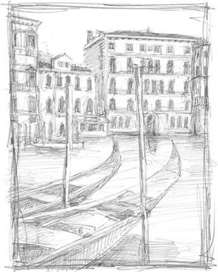 Sketches of Venice III Digital Print by Harper, Ethan,Illustration
