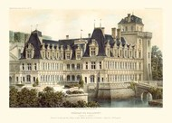 French Chateaux V Digital Print by Petit, Victor,Realism