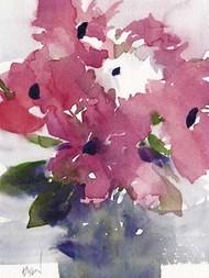 Floral Between I Digital Print by Dixon, Samuel,Impressionism