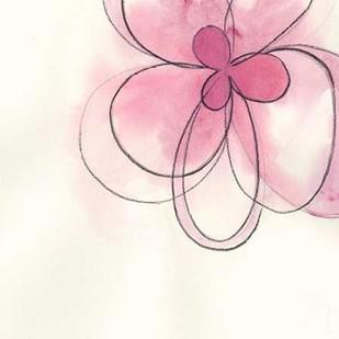 Floral Gesture I Digital Print by Vess, June Erica,Decorative