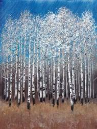 Cobalt Birches II Digital Print by Otoole, Tim,Impressionism