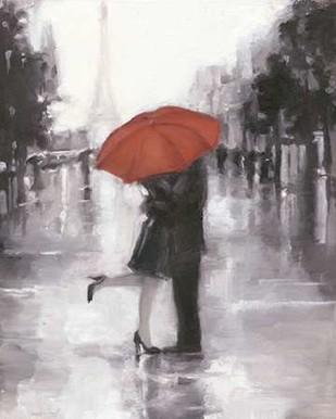 Caught in the Rain Digital Print by Harper, Ethan,Impressionism