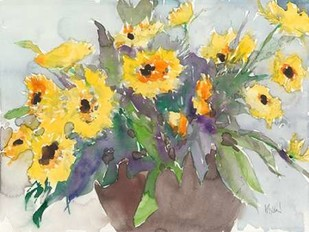 Something Floral V Digital Print by Dixon, Samuel,Impressionism