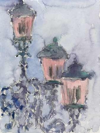Venice Watercolors II Digital Print by Dixon, Samuel,Impressionism