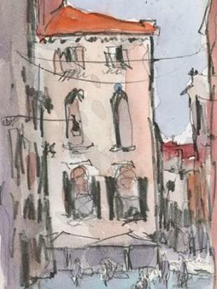 Venice Watercolors III Digital Print by Dixon, Samuel,Impressionism