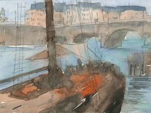 Venice Watercolors IV Digital Print by Dixon, Samuel,Impressionism