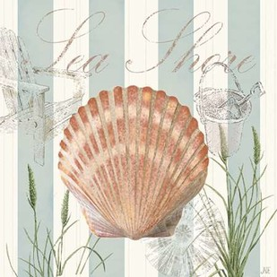 Seashells by the Seashore II Digital Print by Reynolds, Jade,Decorative