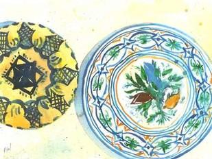 Plate Study II Digital Print by Dixon, Samuel,Decorative
