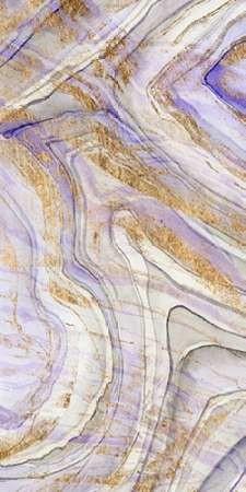 Amethyst & Gold I Digital Print by Studio W,Abstract