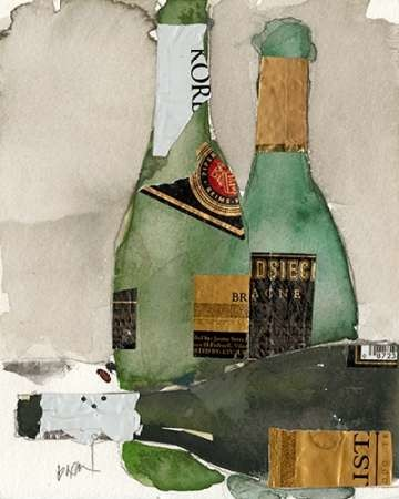 After the Bubbly II Digital Print by Dixon, Samuel,Decorative
