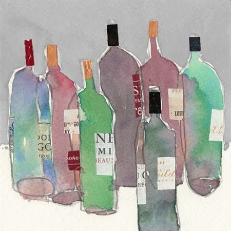 Wine Party II Digital Print by Dixon, Samuel,Impressionism