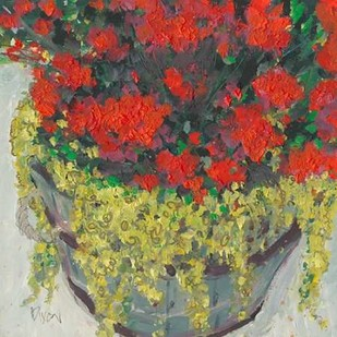 Potted Plant III Digital Print by Dixon, Samuel,Impressionism