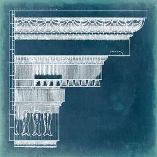 Capital Blueprint II Digital Print by Vision Studio,Geometrical