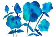 True Blue II Digital Print by Ludwig, Alicia,Impressionism