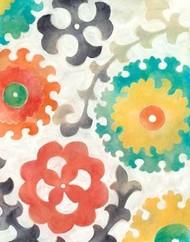 Batik Suzani II Digital Print by Zarris, Chariklia,Decorative