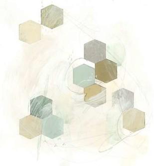 Honeycomb Reaction III Digital Print by Vess, June Erica,Abstract