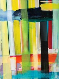 Intersecting Colors I Digital Print by Fuchs, Jodi,Abstract