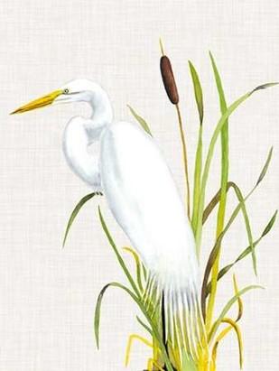 Waterbirds & Cattails IV Digital Print by McCavitt, Naomi,Impressionism