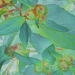 Prickley Tiles I Digital Print by Burghardt, James,Impressionism